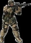 BF2 M4 Soldier