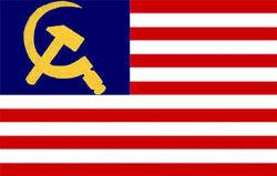 People's Republic of America Flag