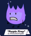 Purple Firey