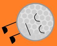 Sleeping Golf Ball