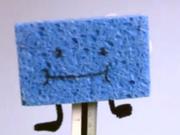 Blue Spongy (puppet)