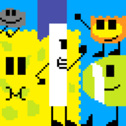 BFDI pixel art