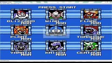 Suddenly, Plantman- Mega Man 6 NES Corruption
