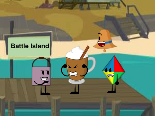 Battle Island episode 1 logo