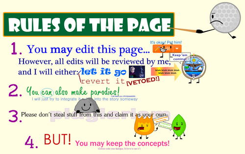 Rules of the Page
