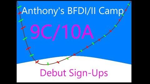 BFDI II Camp 9C 10A Debut Signings! (0 10)