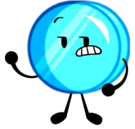Cyan coiny pose