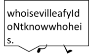 Speechbubblepose