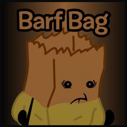 Barf Bag Icon