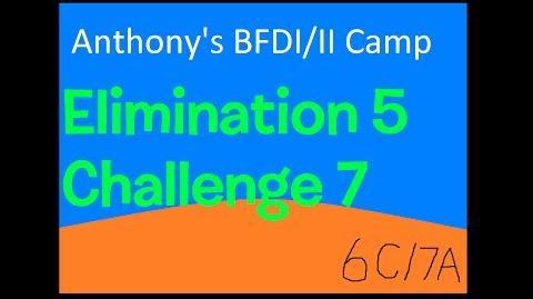 BFDI II Camp 6C 7A Orange, Scary and New-0
