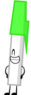 Green Pen Pose