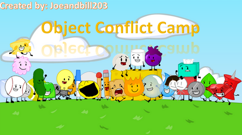 Object Conflict Camp front