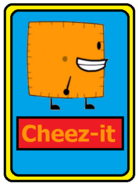 Cheez-it card