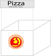 Pizza Stand