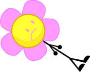 Flowey With Lipstick And Eyecolor