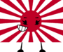 Rising Sun Flag Pose