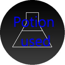 Potion used