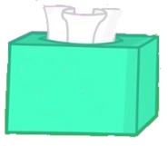 Tissue box idle