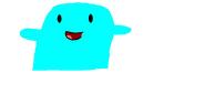 Aquamarine puppet