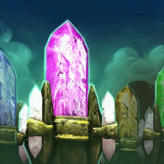 Artwork Dwarven Crystals