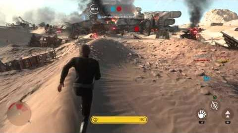 Luke skywalker star wars battlefront