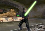Jabba and luke