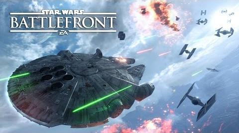 Star Wars Battlefront Fighter Squadron Mode Gameplay Trailer