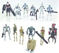 Star Wars- Battlefront Toys