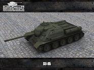 SU-85 render