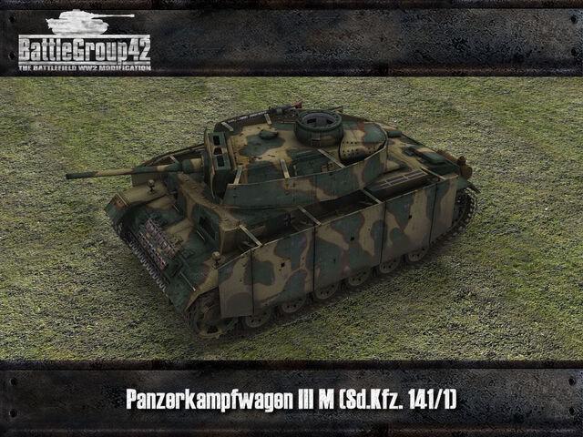 File:Panzer III M render.jpg