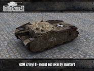 43M Zrinyi II render
