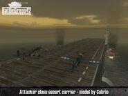 Attacker-class escort carrier 3