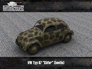 Volkswagen Typ 87 render 2