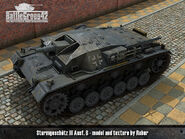 Sturmgeschütz III Ausf B render 1