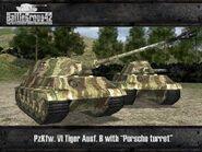 Tiger II Porsche old