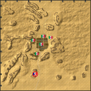 4103-Koufra Raid map