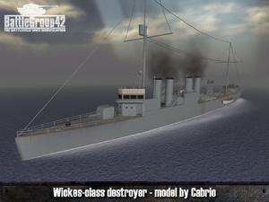 Wickes-class destroyer