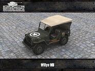 Willys MB render 3