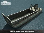 Landing Craft Mechanized render 1