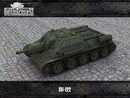 SU-122 render