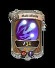 Magic 1 CARD HERO MULTI MISSILE MIN
