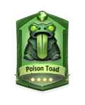 3 Poison Toad