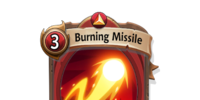 Burning Missile