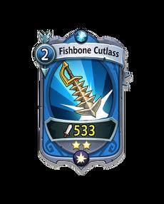 Copy of Skill - Uncommon - Fishbone Cutlass