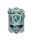 Ranged 1 CARD HERO VORTEX AMULET