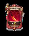 Melee 0 CARD HERO SMOKING DAGGER