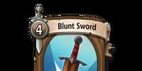 Blunt Sword