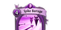 Spike Barrage