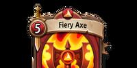 Fiery Axe