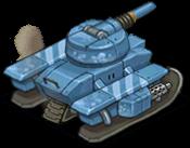 Veh tank arctic back